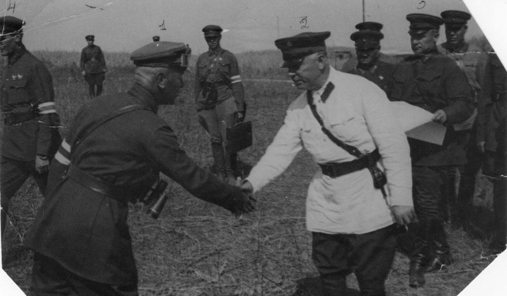 Леонович Ворошилов Егоров Сидякин